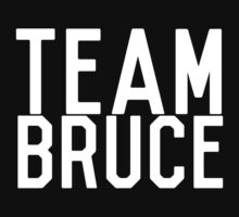 TEAM BRUCE by Zach Williams