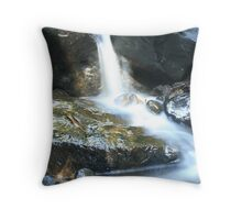 Smooth Water - Buderim Forest Park - Qld Throw Pillow