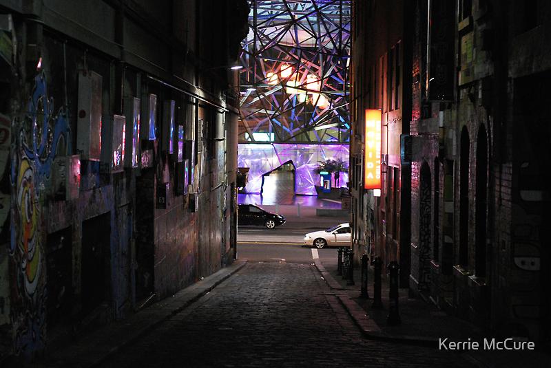 Lane by night by KerrieMcSnap
