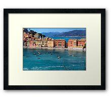 Bay of Silence Framed Print