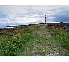 Tarbat Ness Lighthouse Photographic Print