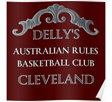 Delly's Australian Rules Poster