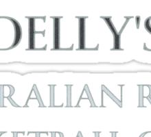 Delly's Australian Rules Sticker