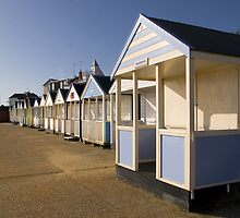 Beachhuts by Geoff Carpenter