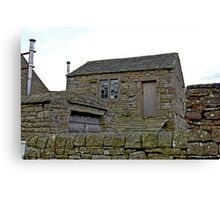Stone Shed Canvas Print