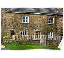 Village Cottage - Muker, Yorks Dales N.P. Poster
