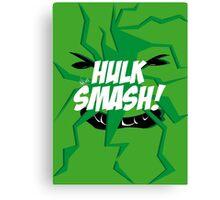 Hulk Smash! Canvas Print
