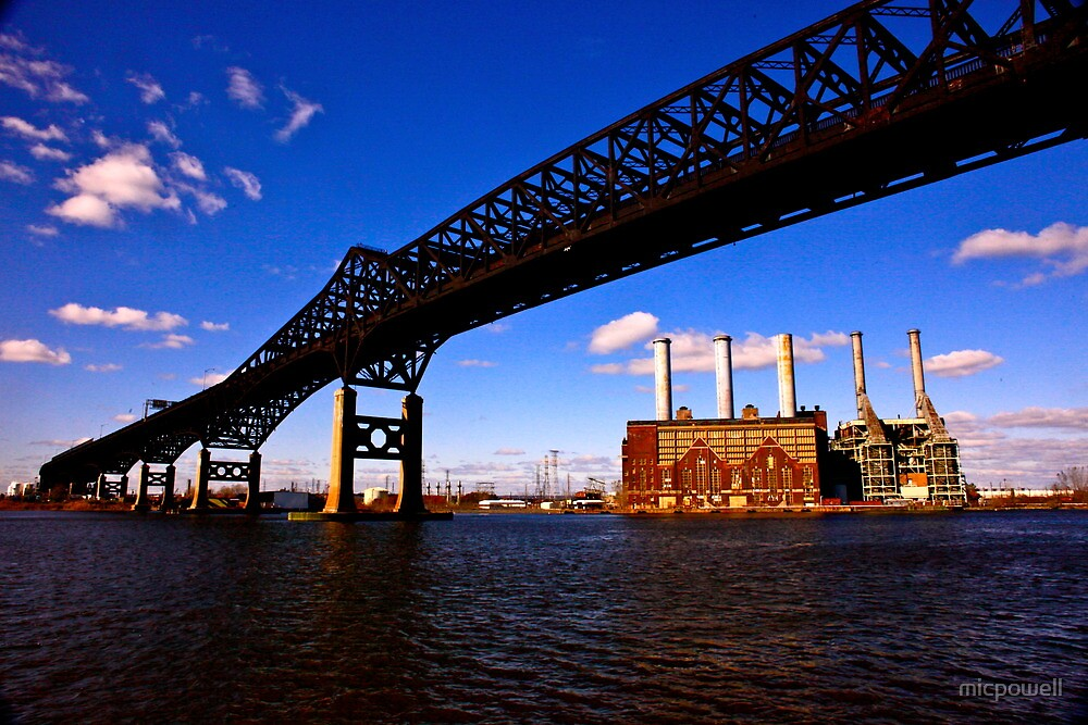 The Pulaski Skyway by micpowell