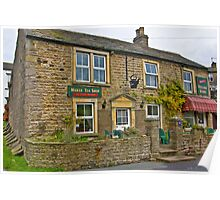 Tea Shop & Village Stores - Muker Poster