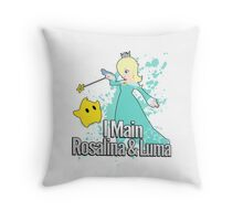 I Main Rosalina & Luma - Super Smash Bros. Throw Pillow