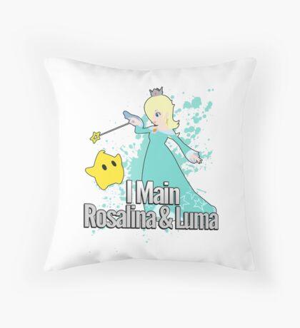 I Main Rosalina & Luma - Super Smash Bros. Throw Pillow