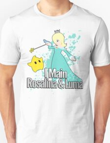 I Main Rosalina & Luma - Super Smash Bros. Unisex T-Shirt