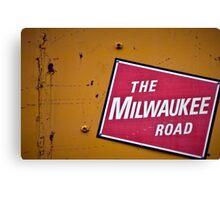 The Milwaukee Road Canvas Print