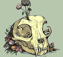 Little Skull Colour by WOLFSKULLJACK