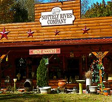 """""""The Nottely River And Company Store"""" by franticflagwave"""
