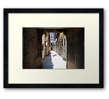 All About Italy. Venice 12 Framed Print