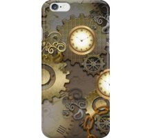 Steampunk, clocks and gears  iPhone Case/Skin