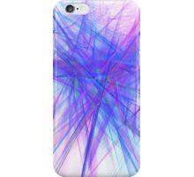 Purple noise line iPhone Case/Skin