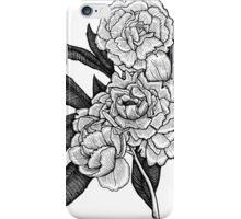 Peony Blooms iPhone Case/Skin