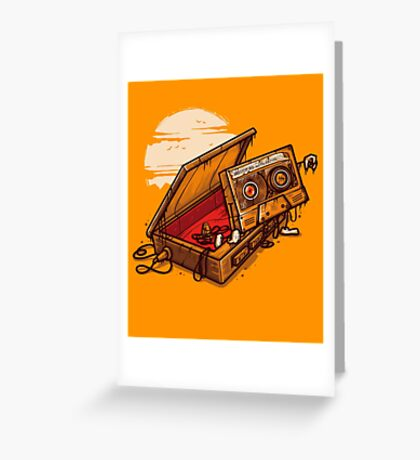Dead Man Walkmann Greeting Card