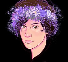 Ryan Flower Crown  by spencejsmith