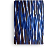 Corrugated Water Canvas Print