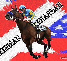 American Pharoah by EyeMagined