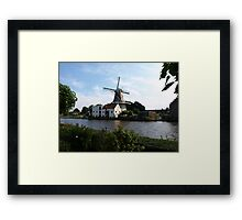 Huge Windmill Framed Print
