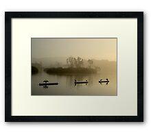Cormorants, Lake Merritt Framed Print