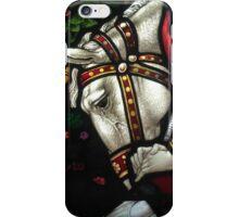 Horse & Knight - Church Window Lyme Regis iPhone Case/Skin