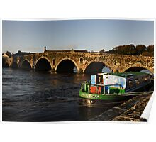 Graiguenamanagh bridge, County Kilkenny, Ireland Poster