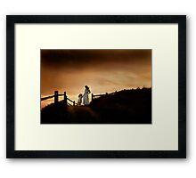 """Storm Warning""- Yahats Oregon, Coast Framed Print"