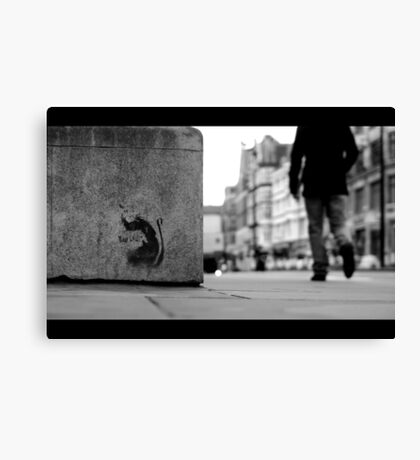 Why, you.... Canvas Print
