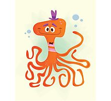 Otto the Octopus Photographic Print