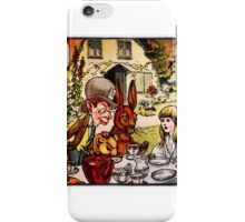 Alice Meets The Mad Hatter - Alice in Wonderland iPhone Case/Skin