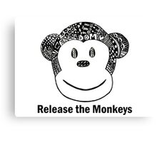 Release the Monkeys! Canvas Print