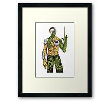 Adam - BTVS Framed Print