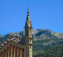 Soller Church Towers by iknowme