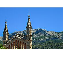 Soller Church Towers Photographic Print