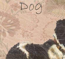 Adopt Rescue Dog Sticker