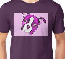 Sweetie Boston Terrier Art Unisex T-Shirt