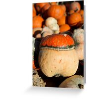 Colorfull Gourd Greeting Card