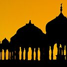 Silhouettes of Cenotaphs by Mukesh Srivastava