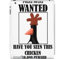 Have you seen this Chicken iPad Case/Skin