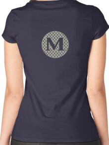 M Spontanious Women's Fitted Scoop T-Shirt