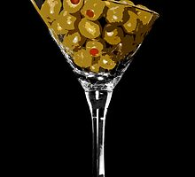 Martini Olives by JoshNorthrup