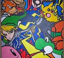 super smash bros by Xtianna