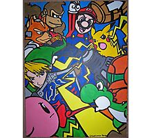 super smash bros Photographic Print