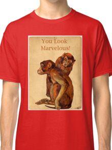 Marvelous Monkey Couple Classic T-Shirt