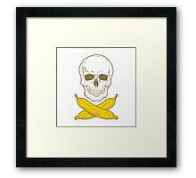 Banana Pirate Framed Print